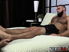 Naked gay twink hairy legs snapchat Ricky Larkin Shoots His