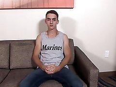 ActiveDuty Twinky Marine Masturbates