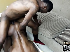Black thugs on doggystyle position