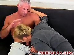 Mature hunk Josh Ford slams Mason Loves tight twink asshole