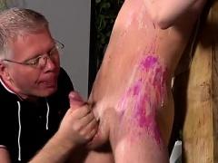 Gay video bondage xxx free The fellow is so inexperienced, b