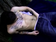 Young gay get first mobile video and end mens sex He fondles